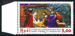 ST-PIERRE ET MIQUELON 1996 - Yv. 638 **   Faciale= 0,46 EUR - Noël. Crèche Cathédrale De St-Pierre  ..Réf.SPM12121 - Neufs