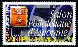 ST-PIERRE ET MIQUELON 1996 - Yv. 637 **    - Salon Philatélique D'Automne  ..Réf.SPM12115 - Unused Stamps
