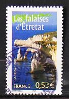 FRANCE 2005 - Cachet à Date N° 3815 - Portrait De Nos Régions - Les Falaises D'Etretat - Usados