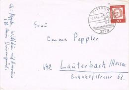 38498. Carta WITTDUN (Alemania Federal) 1964 To Lanterbach - Briefe U. Dokumente