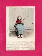 Costumes, Folklore, AUVERGNE, Une Paysanne, Animée, 63 Puy De Dôme, 1902, (P. Juliot) - Costumes
