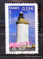 FRANCE 2005 - Cachet à Date N° 3822 - Portrait De Nos Régions - Le Phare Du Stiff - Used Stamps