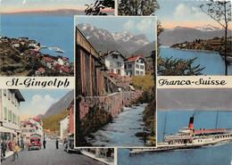 Saint St Gingolph Douanes Douane Bateau Attention état - VS Wallis