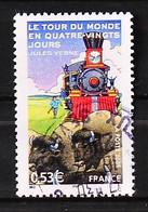 FRANCE 2005 - Cachet à Date N° 3793 - Le Tour Du Monde En 80 Jours - Usados