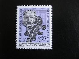Autriche 1967 - Académie De Musique & D'art Dramatique - Y.T. 1087 - Neuf (**) Mint (MNH) Postfrisch (**) - 1961-70 Ongebruikt