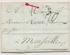 LAC MARQUES POSTALES 18ème Siècle (numéro Len) - 1801-1848: Precursori XIX