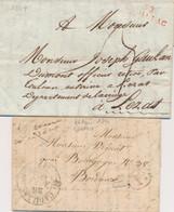 LAC MARQUES POSTALES 19ème Siècle - 1801-1848: Precursori XIX