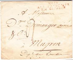 L MARQUES D'ARMEES - 1801-1848: Precursori XIX