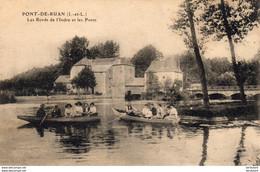 D37  PONT DE RUAN  Les Bords De L'Indre Et Les Ponts  ..... Canotage - Andere Gemeenten