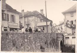 SVIZZERA - VS - CANTON VALAIS - ST. GINGOLPH - DOUANE FRANCE / SUISSE - PHOTO - 1945 - VS Wallis