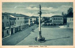 78595- Fonte Treviso Plazza One In Venetien Südtirol Italien Um 1920 - Treviso
