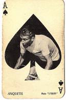 Carte à Jouer (vélo, Cyclisme) , Photo L'équipe , Jacques Anquetil - Playing Cards (classic)