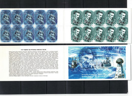 Serbia And Montenegro 2006 150th Anniversary Of The Birth Of Nikola Tesla MH / Booklet Postfrisch / MNH - Elektrizität