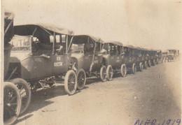 Photo 1919 SAINT-NAZAIRE - Camp Américain N°7, Montage De Camions, Automobile Ford (A225, Ww1, Wk 1) - Passenger Cars