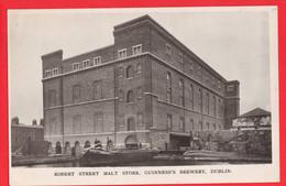 GUINNESS BEER   BREWERY IRELAND EIRE  DUBLIN ROBERT ST MALT STORE   RP - Publicidad