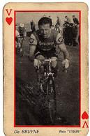 Carte à Jouer (vélo, Cyclisme) , Photo L'équipe , Alfred De Bruyne - Playing Cards (classic)