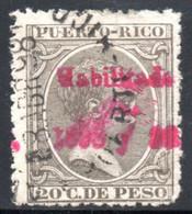 YT 166  OBLITERE - Puerto Rico