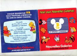 Catalogue Jouet Noel 1986 Nouvelles Galerie Disney - Advertising