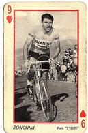 Carte à Jouer (vélo, Cyclisme) , Photo L'équipe , Diego Ronchini - Playing Cards (classic)
