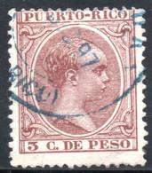 YT 122  OBLITERE - Puerto Rico