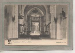 CPA - (10) TRAINEL - Aspect De L'intérieur De L'Eglise En 1900 - Otros Municipios