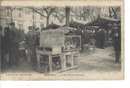 75 - PARIS - Belle Vue Animée Du Marché Aux Oiseaux ( Précurseur ) - Straßenhandel Und Kleingewerbe