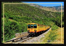 66  SERDINYA   ... Le Train Jaune ...ligne Cerdagne - Otros Municipios