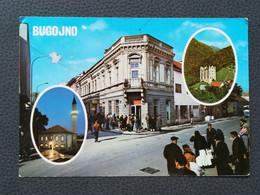 BUGOJNO BOSNA BOSNIA Postcards Traveled 1977  (B3) - Bosnia And Herzegovina