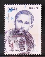 FRANCE 2007 - Cachets à Date N° 4107 Guy Moquet - Usados