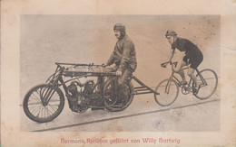 MOTORRAD. FAHRRAD. RADFAHREN. RADFAHRER. LAUF.  Motocicletta. Ciclismo. Bicicletta.  171p - Moto