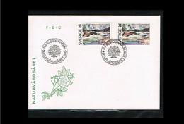 1970 - Europe Sympathy FDC Sweden Mi.674-75 - Cancel Stockholm [WA039] - 1970