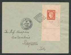 1949 Enveloppe CITEX - Paris à Destination De Prayssac (Lot) - ....-1949