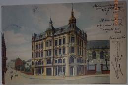 57 Moselle CPA Sarreguemines Saargemund Neues  Theater 1903 - Sarreguemines
