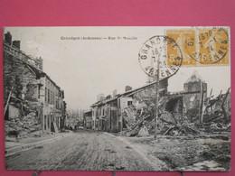 Visuel Pas Très Courant - 08 - Grandpré - Rue De Monflle - R/verso - Altri Comuni