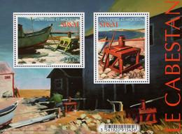 St. Pierre & Miquelon - 2020 - Fishing Boats - The Capestan - Mint Souvenir Sheet - Unused Stamps