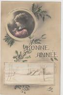 ENFANTS 1382 : Bonne Année 1915 , Portrait Médaillon ; édit. Mug N° 114 - Andere