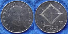 """ITALY - 100 Lire ND (1974) R """"Guglielmo Marconi"""" KM# 102 Republic Lira Coinage . - Unclassified"""