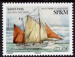 St. Pierre & Miquelon - 2020 - Sea Laborers - Saint Yves Sailing Boat - Mint Stamp - Unused Stamps