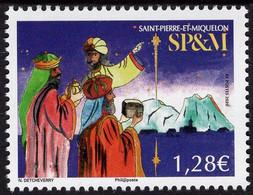 St. Pierre & Miquelon - 2020 - Christmas - Mint Stamp - Unused Stamps