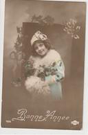 ENFANTS 1385 : Bonne Année 1915 , Fillette , Col En Fourrure ; édit. Unio N° 244 - Andere