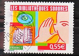 FRANCE 2008 - Cachet à Date N° 4160 - Les Bibliothèques Sonores - Usados