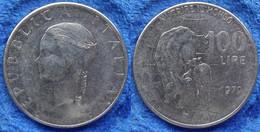 """ITALY - 100 Lire 1979 R """"nutrire Il Mondo"""" KM# 106 Republic Lira Coinage - Edelweiss Coins - Unclassified"""