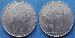 "ITALY - 100 Lire 1979 R ""Minerva"" KM# 96.1 Republic (1946-2001) - Edelweiss Coins - Unclassified"