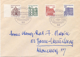 DEUTSCHE BUNDESPOST 1965 DEUTSCHE BAWERKE  (DIC20018) - Briefe U. Dokumente