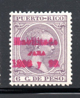 YT 163  NEUF* - Puerto Rico
