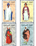 Ref. 196782 * MNH * - MOROCCO. 1969. REGIONAL COSTUMES . TRAJES REGIONALES - Marocco (1956-...)