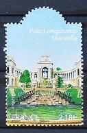 FRANCE 2008 - Cachet à Date N° 4173 - Jardins De France - Le Parc Longchamp à Marseille - Usados