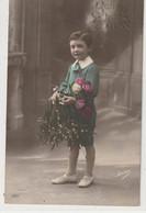ENFANTS 1390 : Bonne Année , Garçon Avec Du Gui ; édit. Irisa N° 3017 - Andere