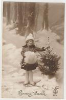 ENFANTS 1393 : Bonne Année 1920 , Fillette Sapin De Noel  ; édit. A Noyer N° 2931 - Andere