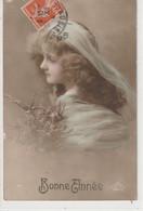 ENFANTS 1394 : Bonne Année 1915 , Portrait  ; édit. A B M Paris N° 277 - Andere